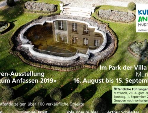 Skulpturen Ausstellung «Kunst zum Anfassen 2019»