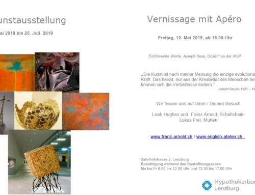 Kunstausstellung Hypothekarbank Lenzburg
